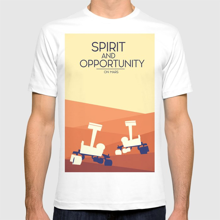 994756155 spirit and opportunity space rovers T-shirt by nicholasgreen | Society6
