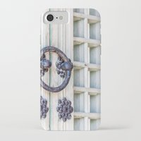 korean iPhone & iPod Cases featuring Korean Palace Doors II by Jennifer Stinson