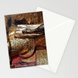 Golden Buddha Hand Mudra Stationery Cards