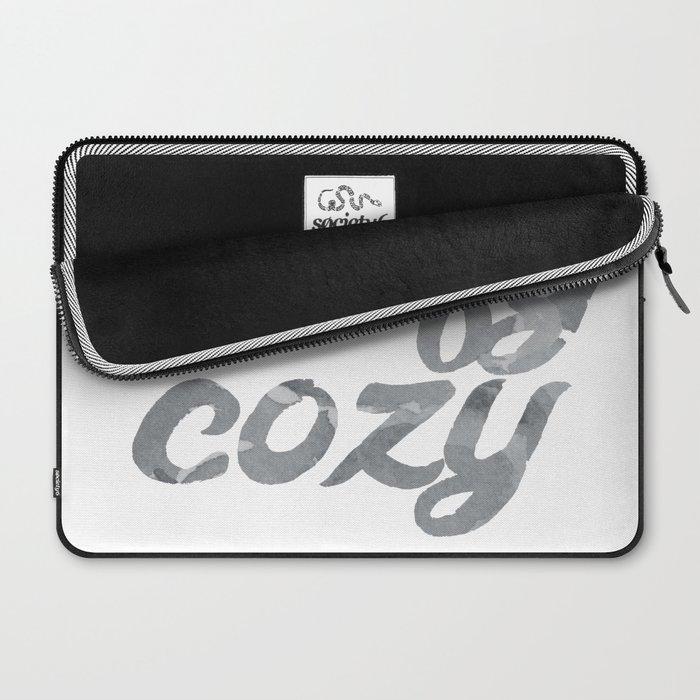 comfy cozy Laptop Sleeve