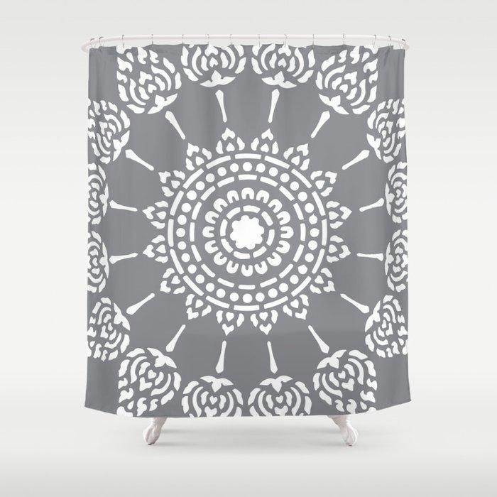 Thai Mandala Shower Curtain