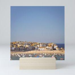 St Ives Harbour. Mini Art Print