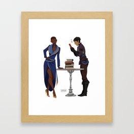 The good stuff Framed Art Print