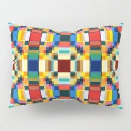 Abstract Minimal Geometric Flowers Sirrush Pillow Sham