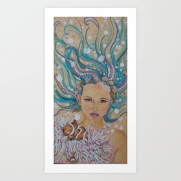 Lage Art Print