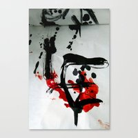 true blood Canvas Prints featuring TRUE BLOOD by Lazara Rosell Albear