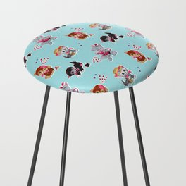 Zombie Cats Counter Stool