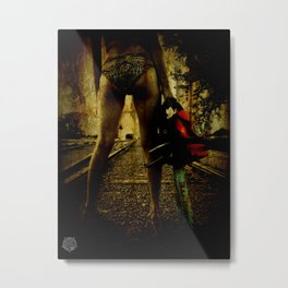 Chainsaw Metal Print