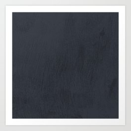 Textured Navy Art Print