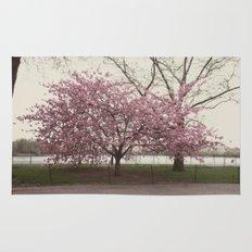 in bloom::nyc Rug