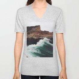 Montaña Wave Unisex V-Neck