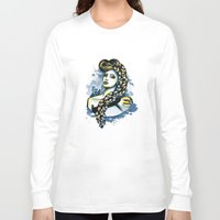rapunzel Long Sleeve T-shirts featuring Rapunzel by Lindella