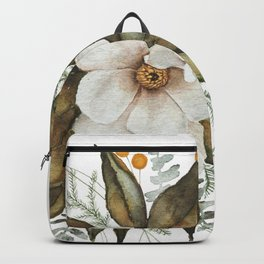 Magnolia Bouquet Backpack