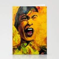 scream Stationery Cards featuring Scream by Kristie Holiday