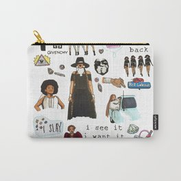 Queen Bey Formation Tribute Carry-All Pouch