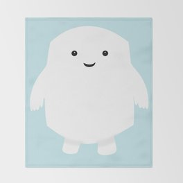 Doctor Who Adipose Throw Blanket
