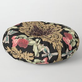 Lace Baroque Floor Pillow
