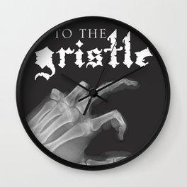 Official tothe Gristle-E Wall Clock