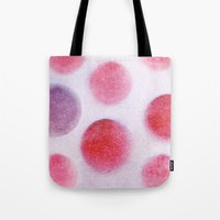 cycle Tote Bags featuring cycle by Claudia Drossert