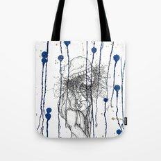 Rain Walker Tote Bag