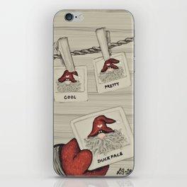 """""""Tomten Elmer's"""" Duckface. iPhone Skin"""