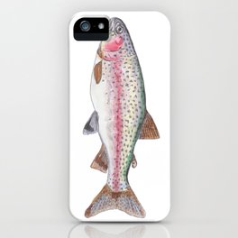 Rory the Rainbow Trout iPhone Case
