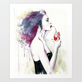 You loved Cola after sex Art Print