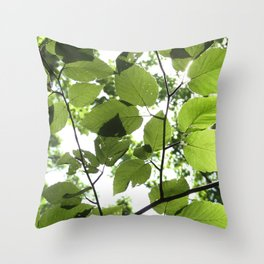 Where The Light Is Throw Pillow