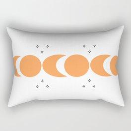 Sun and moon compass Rectangular Pillow