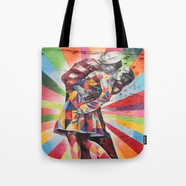 New York Graffiti Tote Bag