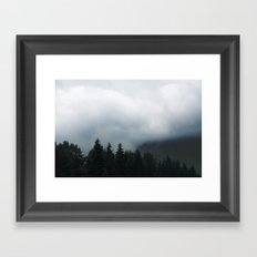 darkness walk with me Framed Art Print