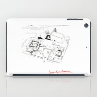 architect iPad Cases featuring Le Corbusier The Architect by Rothko