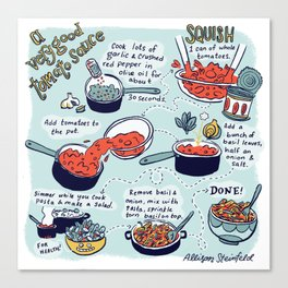 Tomato Sauce Canvas Print