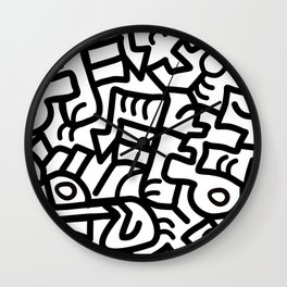 Dazed and Confused in the Morning Wall Clock