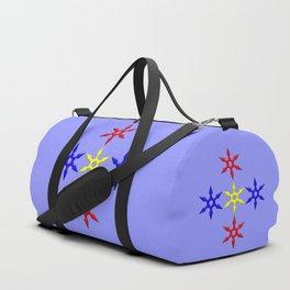 Shuriken Design version 2 Duffle Bag