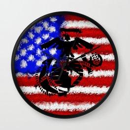 This We'll Defend - USMC Wall Clock