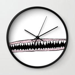 Teeth. Wall Clock