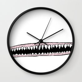 Teeth. Wall Clock