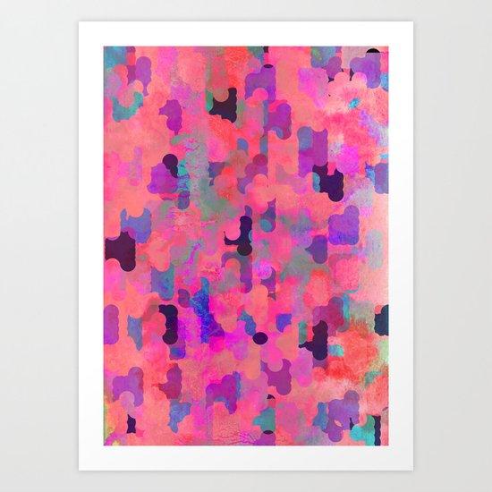 Colour Infusion Art Print