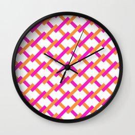 Pattern163 Wall Clock