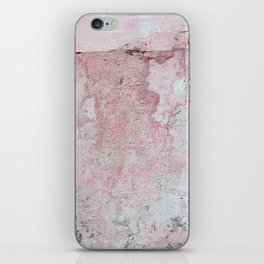 Coral Pink Background Texture iPhone Skin
