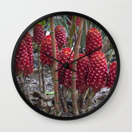 Red Ginger Wall Clock