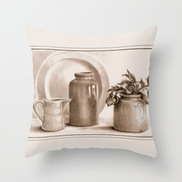 Ancient Scent Throw Pillow