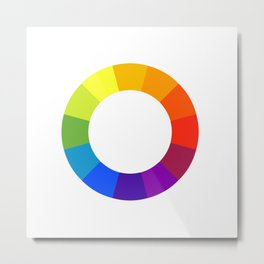 Pantone color wheel Metal Print