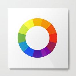 Pantone color wheel Metal Print