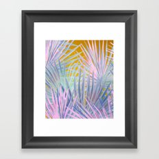 Jungle Abstraction Framed Art Print