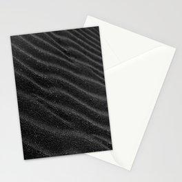 Black Sand Darkness Stationery Cards