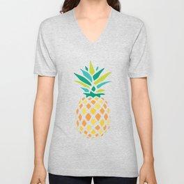 Summer Pineapple Unisex V-Neck