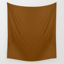 Chocolate Brown Light Pixel Dust Wall Tapestry