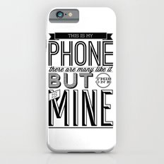 This is mine iPhone 6s Slim Case